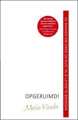 Opgeruimd! Boek Marie Kondo